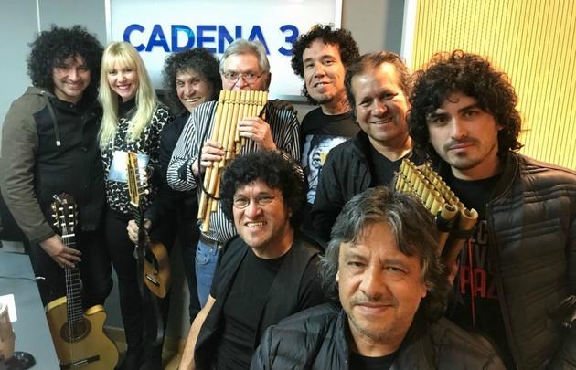 Illapu en Viva la Radio.