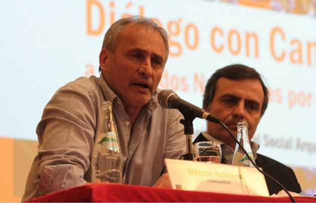 Baldassi fue denunciado por presunto abuso de autoridad y malversación de caudales.