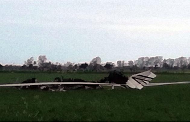 Un piloto cordobés murió tras estrellarse en Santa Fe