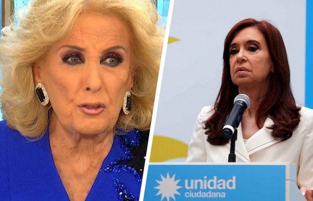 Mirtha y Cristina, enemigas.