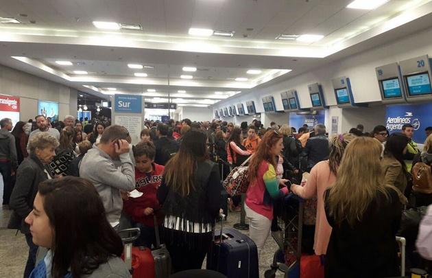 Podría haber problemas con los vuelos en Semana Santa.