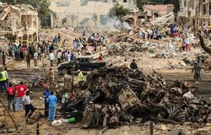 El grupo yihadista detonó camiones bomba contra un hotel y un mercado de la capital.