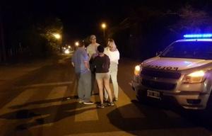 El accidente se produjo en la ruta provincial 14 (Foto: eldiariodecarlospaz.com).