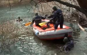 El hallazgo del cadáver se produjo a 300 metros de donde desapareció el joven.