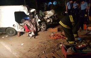 El accidente se cobró la vida de la familia de la pequeña.