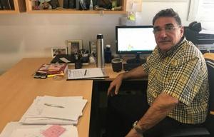 Carlos Vullo, director científico del Laboratorio de ADN del EAAF.