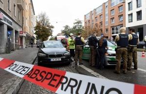 Un hombre hirió con un cuchillo a un grupo de personas en Múnich.