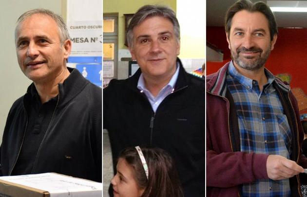 Baldassi, Llaryora y Carro se disputan la elección en Córdoba.