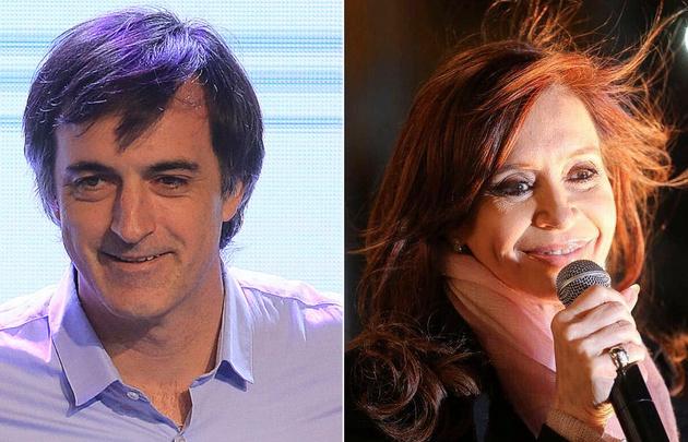 Reñida elección entre Esteban Bullrich y Cristina Kirchner.