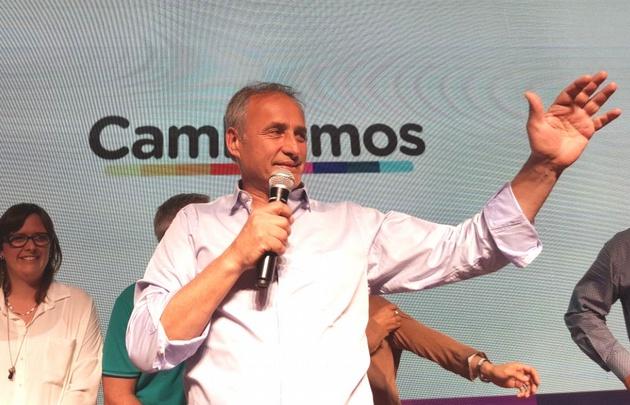 Baldassi estuvo en el acto de entrega de los subsidios a los clubes de Villa Allende.