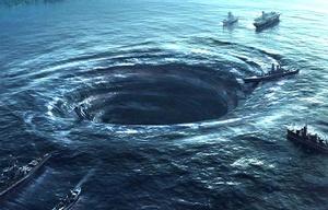 """Aseguran que en la zona se forman unas """"bombas de aire"""" que atrapen aviones y barcos."""