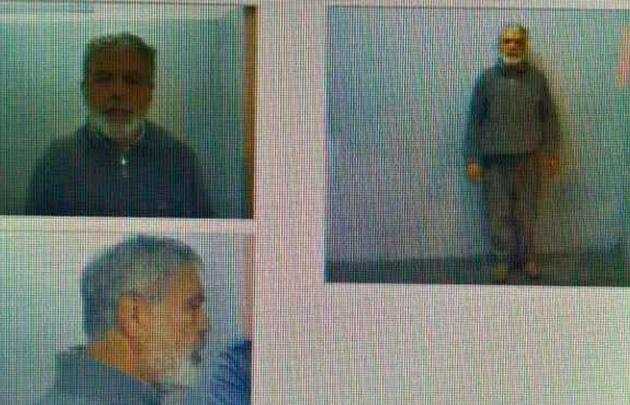 Fotografías de frente y de perfil del ex ministro De Vido tras quedar preso.