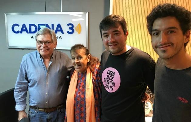 Melania Pérez con Rony Vargas.