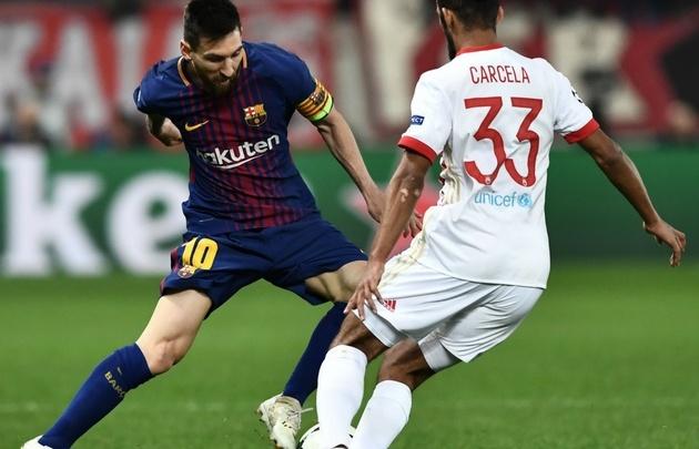 Messi fue titular en ''El Barsa'', que igualó con Olympiacos.