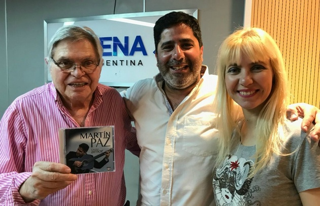 Martín Paz en Viva la Radio.