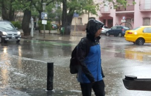 El alerta prevé lluvias y tormentas fuertes.