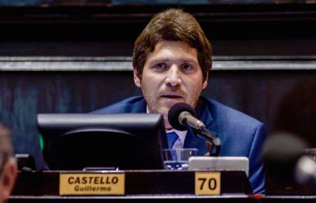 Guillermo Castello, diputado provincial de la Coalición Cívica.