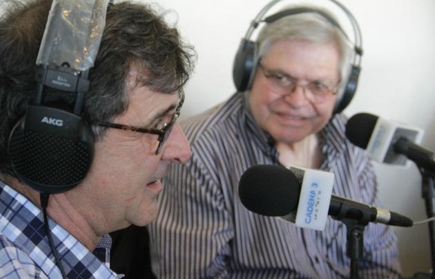 Rony con Mario Alberto Kempes.