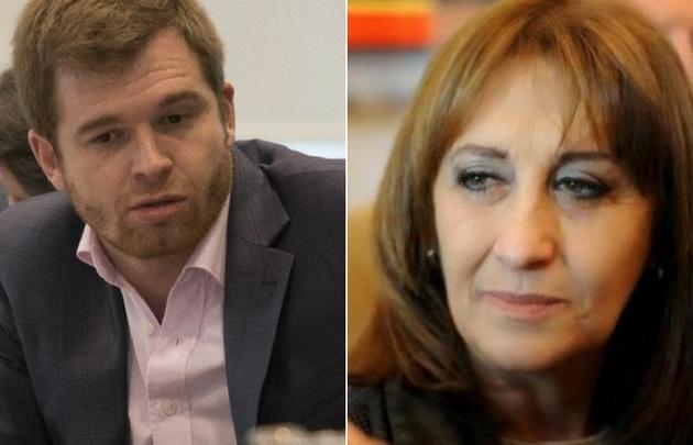 Nicolás Massot y Mirta Tundis dieron sus puntos de vista del proyecto de reforma.