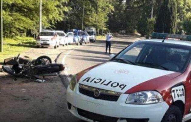 La Policía custodia el lugar del siniestro (Foto: Día a Día)