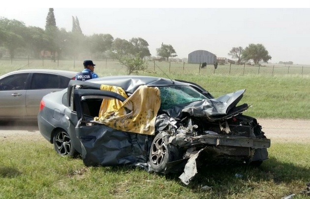El trágico accidente ocurrió en la ruta 19 de Córdoba.