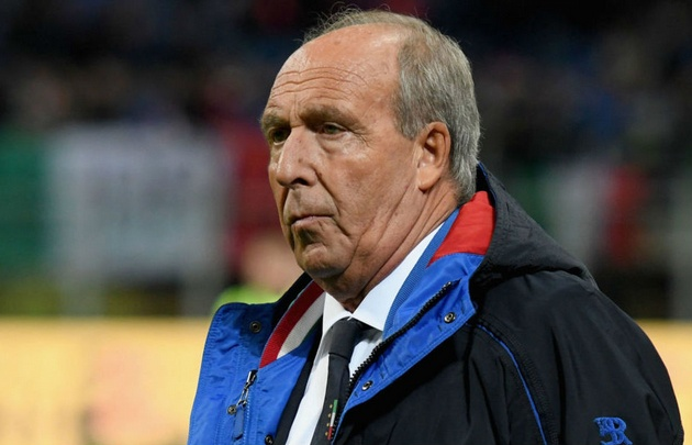 Ventura fue despedido de Italia tras el fracaso futbolístico.