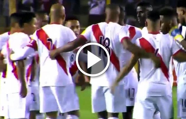 Gran expectativa en Perú en la previa de un partido histórico.