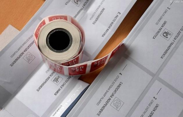 El Servicio Electoral sorteó días atrás el orden en las listas.