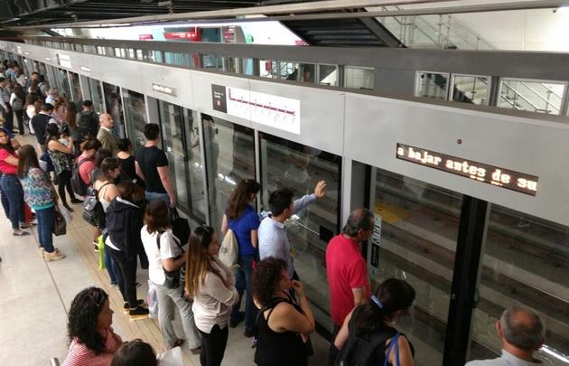 Los pasajeros ya disfrutan de la nueva línea 6 de subte.