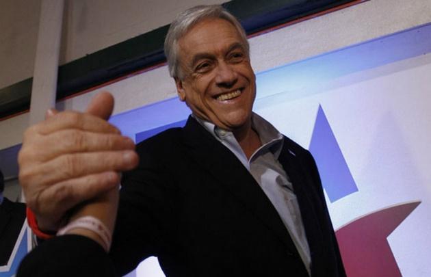 Sebastián Piñera lidera las encuestas.
