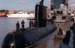 El submarino ARA San Juan tiene 44 tripulantes a bordo.