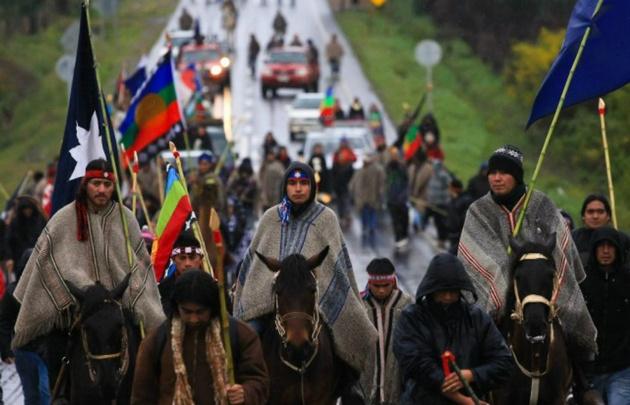 En Chile la población indígena representa un 10% (Foto: archivo).