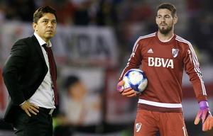 Augusto Batalla no concentra en River por segundo partido consecutivo.