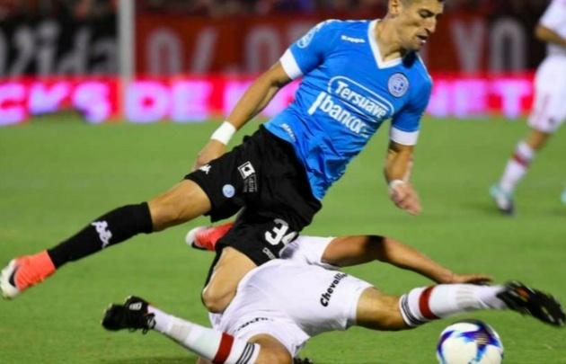 Joel Amoroso marcó el gol del triunfo del ''Pirata''.