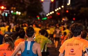 Miles de runners disfrutaron de una gran noche.