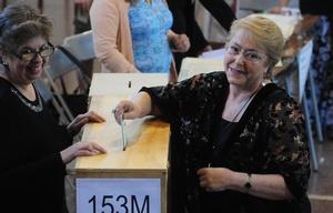 Michelle Bachelet llamó a participar de las elecciones.