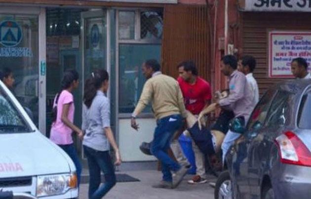 El hombre, de 29 años, fue atacado en la ciudad de Jaipur. (Foto: ANI)