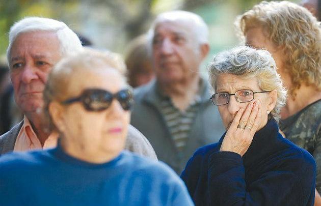 El 70% de los jubilados (4 millones de personas) cobra la mínima.
