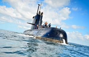 El submarino ARA San Juan sufrió una explosión antes de perder contacto.