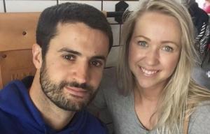 Juan Pablo Lampe y su novia iban a casarse en un mes.