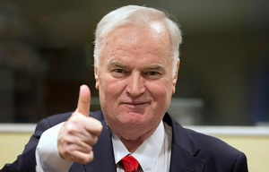 Mladic encontrado culpable en diez de once cargos.