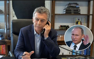 Macri - Putin