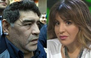 Maradona en contra de su propia hija.