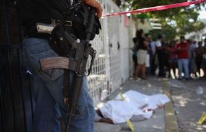 Sacude a México una ola de crímenes, la mayor en 20 años.