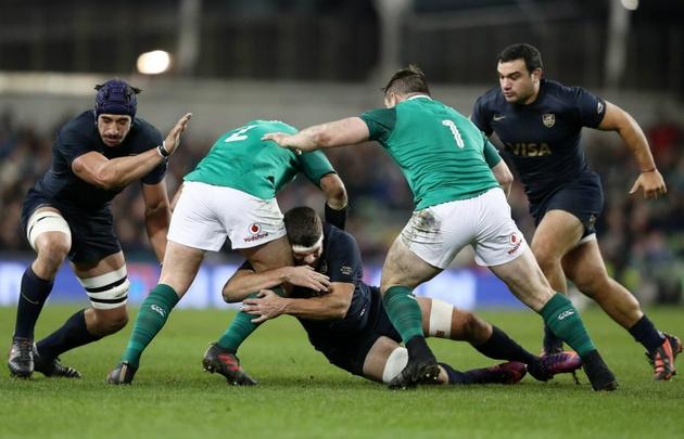 Con un gran segundo tiempo, Los Pumas cayeron en Dublin