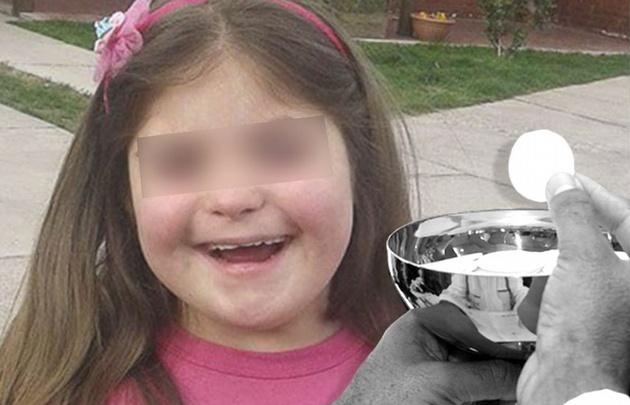 Denunció que un sacerdote le negó la comunión a su hija con síndrome de down.