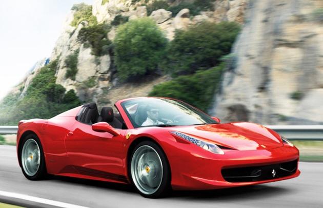 Ferrari 458 Spider (Foto ilustrativa).