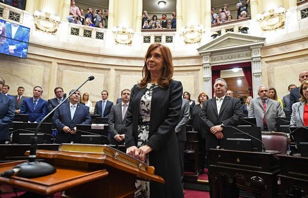 La resolución se conoció un día después de que CFK jurara como senadora.
