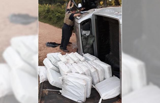 Las fuerzas internacionales secuestró más de 900 kilos.