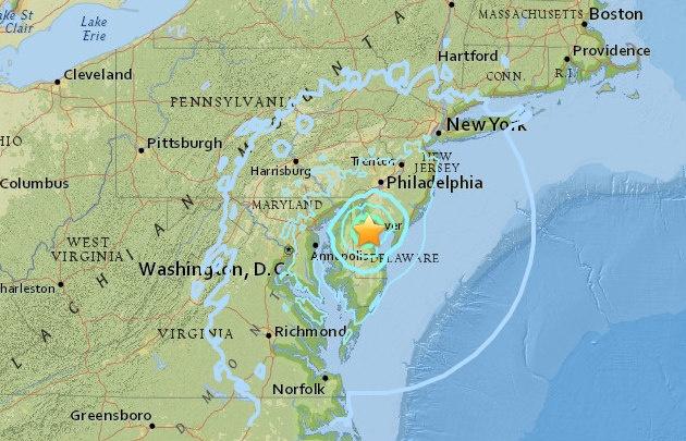 El epicentro se ubicó a 19 kilómetros de New York.